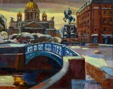 <i>Cиний мост</i><b>Blue Bridge</b>